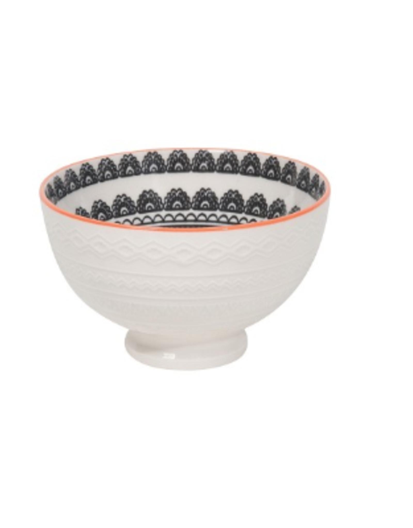 Now Designs Embossed Bowl, Casablanca 9oz