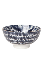 "Now Designs Stamped Bowl, 6"", Shibori Dash"