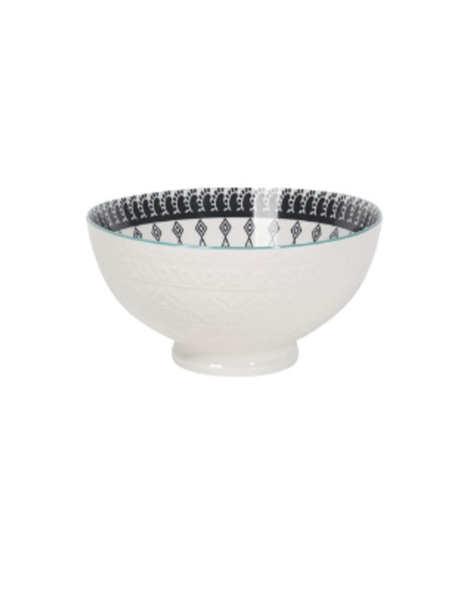 Now Designs Embossed Bowl, Casablanca 22oz