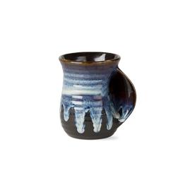 Tag HOL 20 Hand Warming Mug, Glaze, Blue