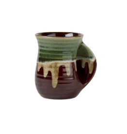 Tag HOL 20 Hand Warming Mug, Glaze, Green