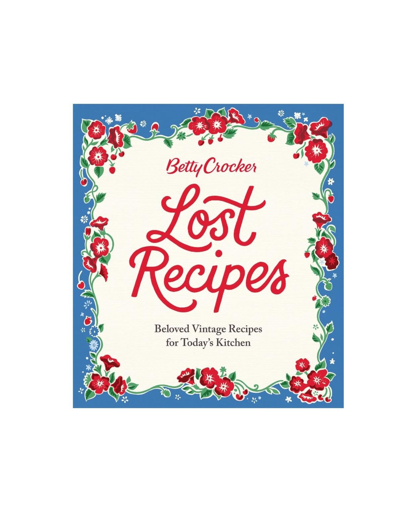 Houghton Mifflin Betty Crocker Lost Recipes