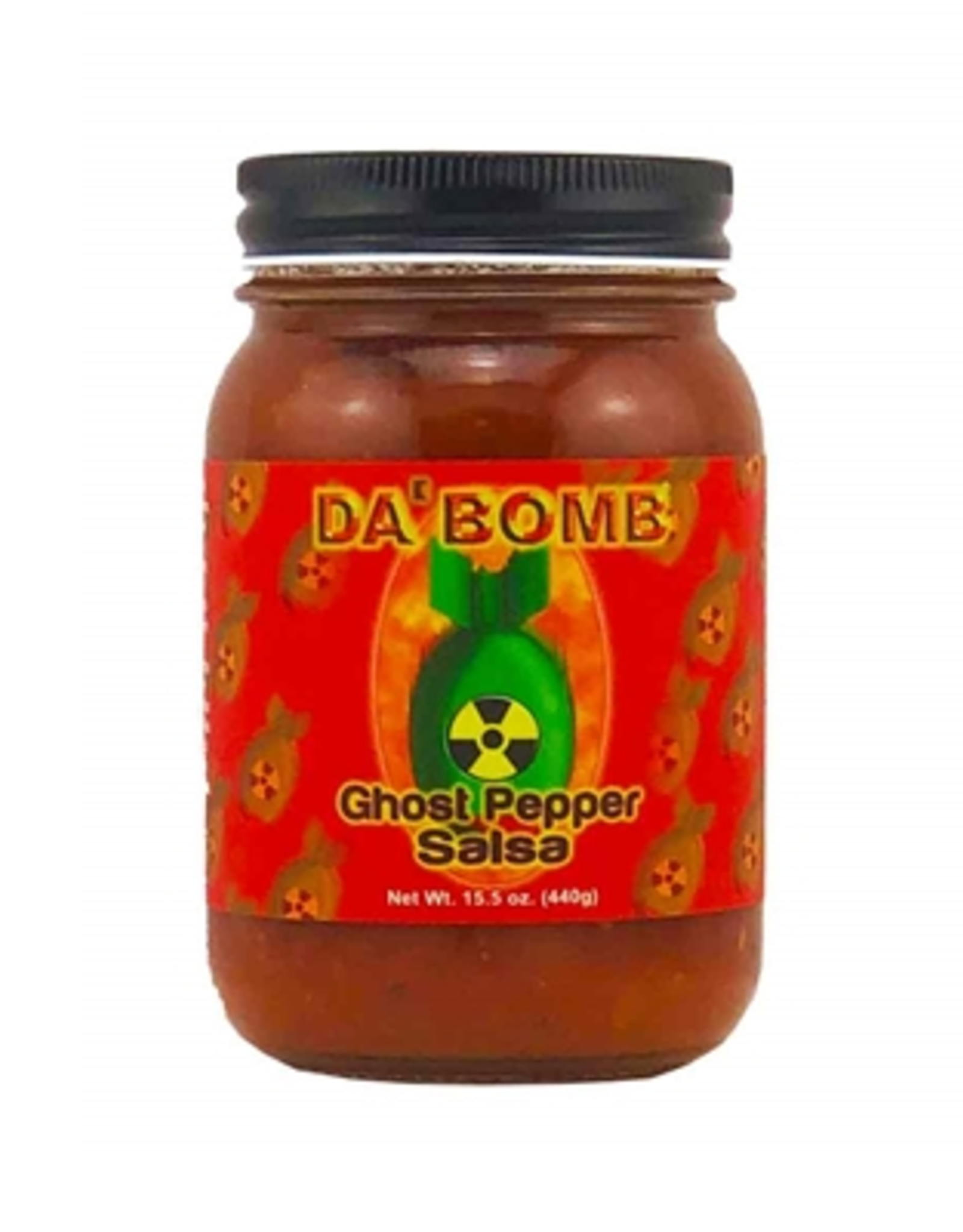 Hot Shots Distributing Da Bomb Ghost Pepper Salsa