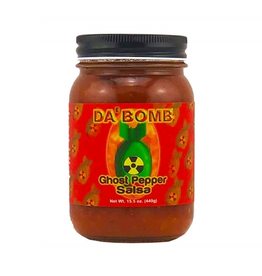 Hot Shots Distributing Da Bomb Ghost Pepper Salsa