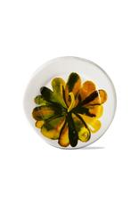 Tag Appetizer Plate, Multi Color Pumpkin