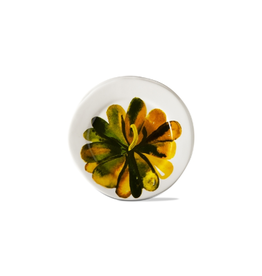Tag Appetizer Plate, Multi Color Pumpkin