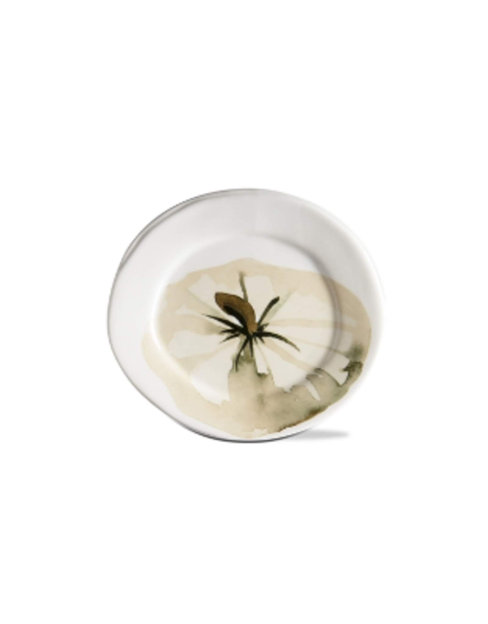 Tag Appetizer Plate, White Pumpkin