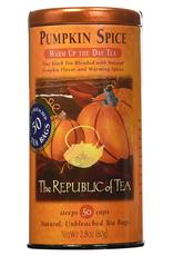 The Republic of Tea Pumpkin spice Black Tea, 50 ct