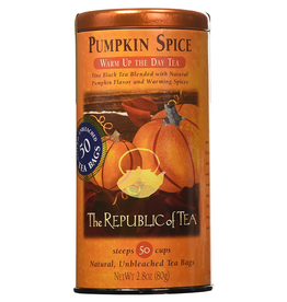 The Republic of Tea Pumpkin spice Black Tea, 50 ct