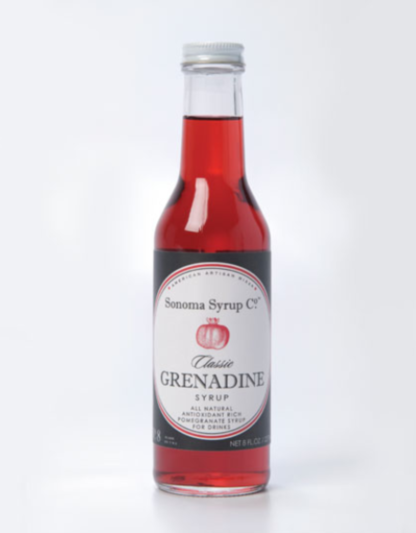 Sonoma Syrup Co. Classic Grenadine Syrup