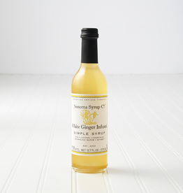 Sonoma Syrup Co. Simple Syrup, White Ginger