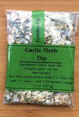 Golden Fig Garlic Herb Dip Packet