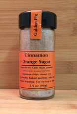 Golden Fig Infused Sugars, Cinnamon Orange