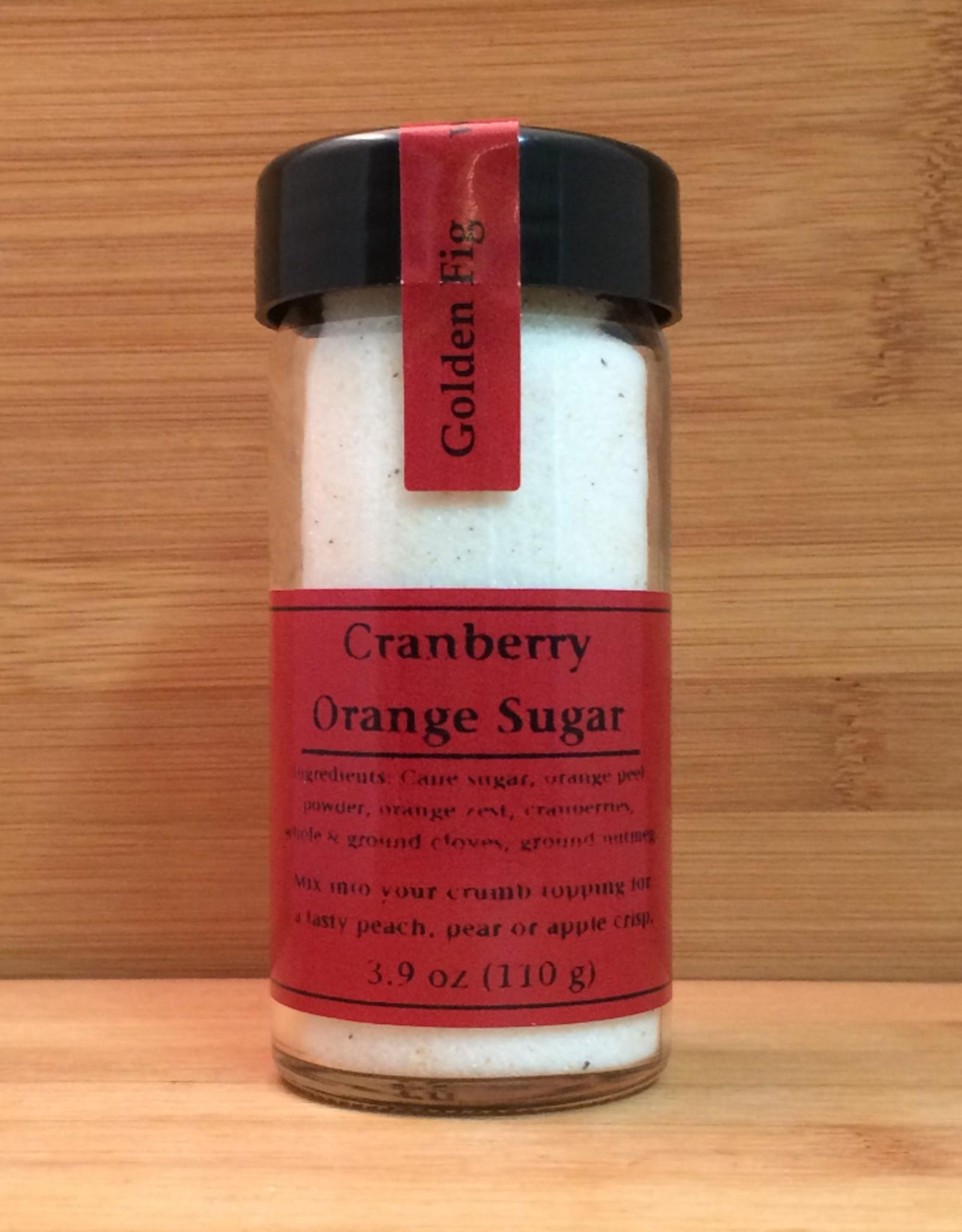 Golden Fig Infused Sugars, Cranberry Orange