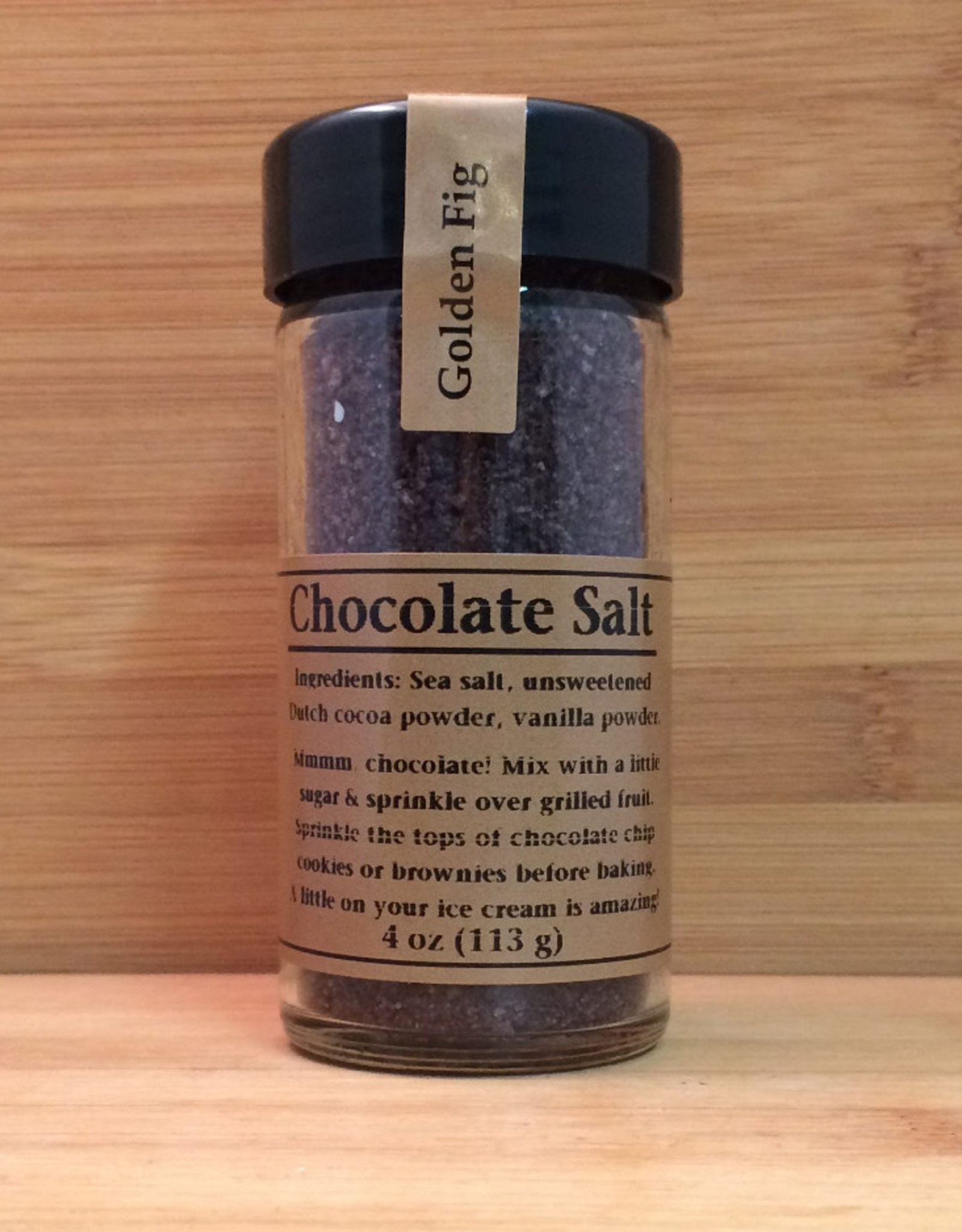 Golden Fig Chocolate Salt