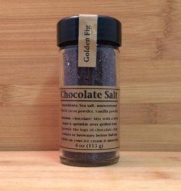 Golden Fig Chocolate Salt
