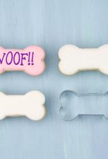 "Ann Clark Cookie Cutter, Dog Bone 3.5"""