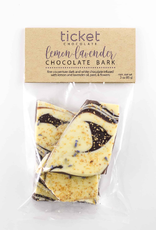 Ticket Chocolate Lemon-Lavender Chocolate Bark