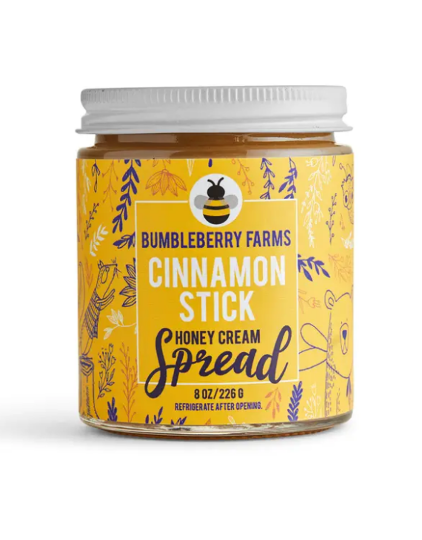 Bumbleberry Farms Cinnamon Stick Honey Cream Spread