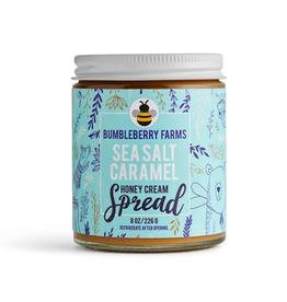 Bumbleberry Farms Sea Salt Caramel Honey Cream Spread