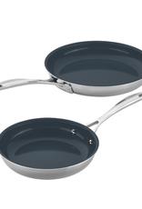 "Zwilling Clad CFX  8"" & 10"" Fry Pan"