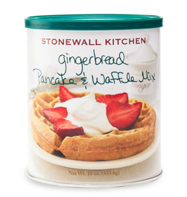 Stonewall Kitchen Holiday Gingerbread Pancake & Waffle Mix, 16 oz Can