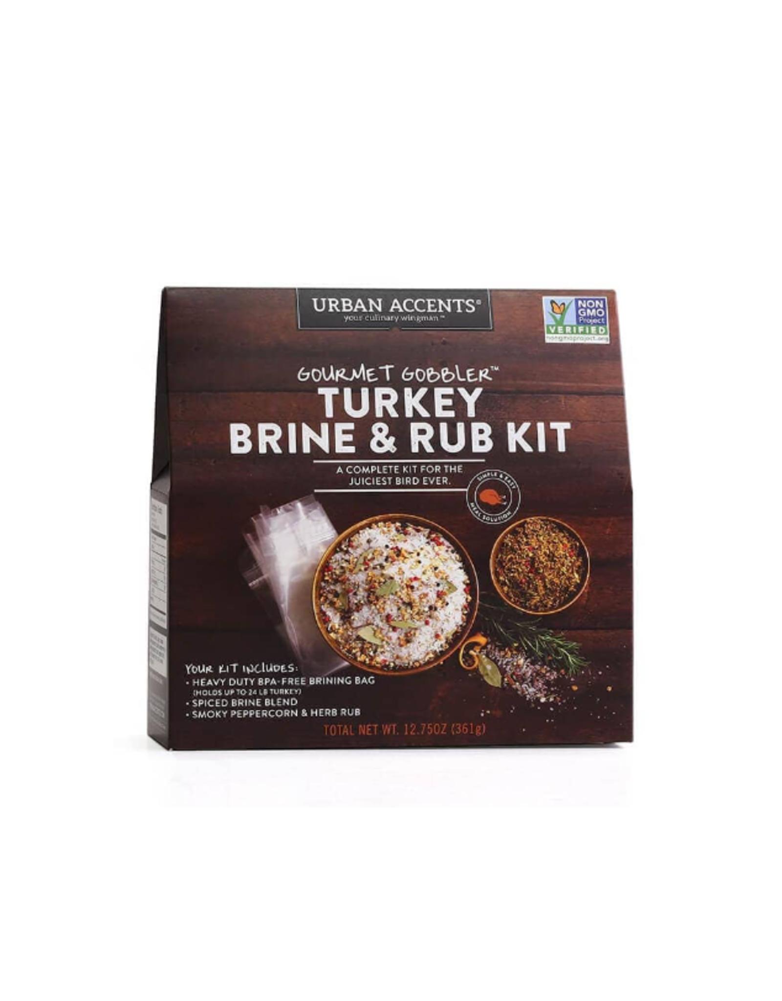 Urban Accents Gourmet Gobbler Brine Kit