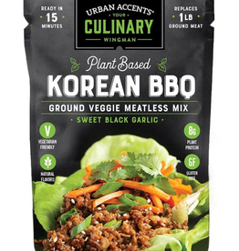 Urban Accents Meatless Mix, Black Garlic Korean BBQ
