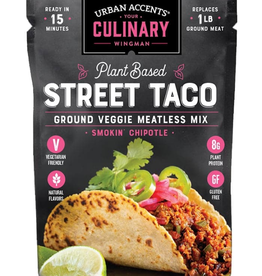 Urban Accents Meatless Mix, Smokin' Chipotle Street Tacos