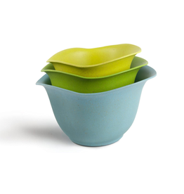 Architec Purelast Mixing Bowl Set, green to blue