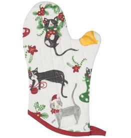 Now Designs F20 Mitt, Meowy Christmas