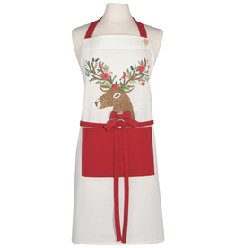 Now Designs F20 Apron, Dasher Deer