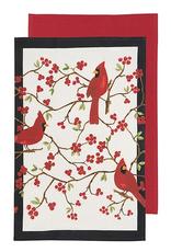 Now Designs F20 Dishtowel set/2, Cardinals