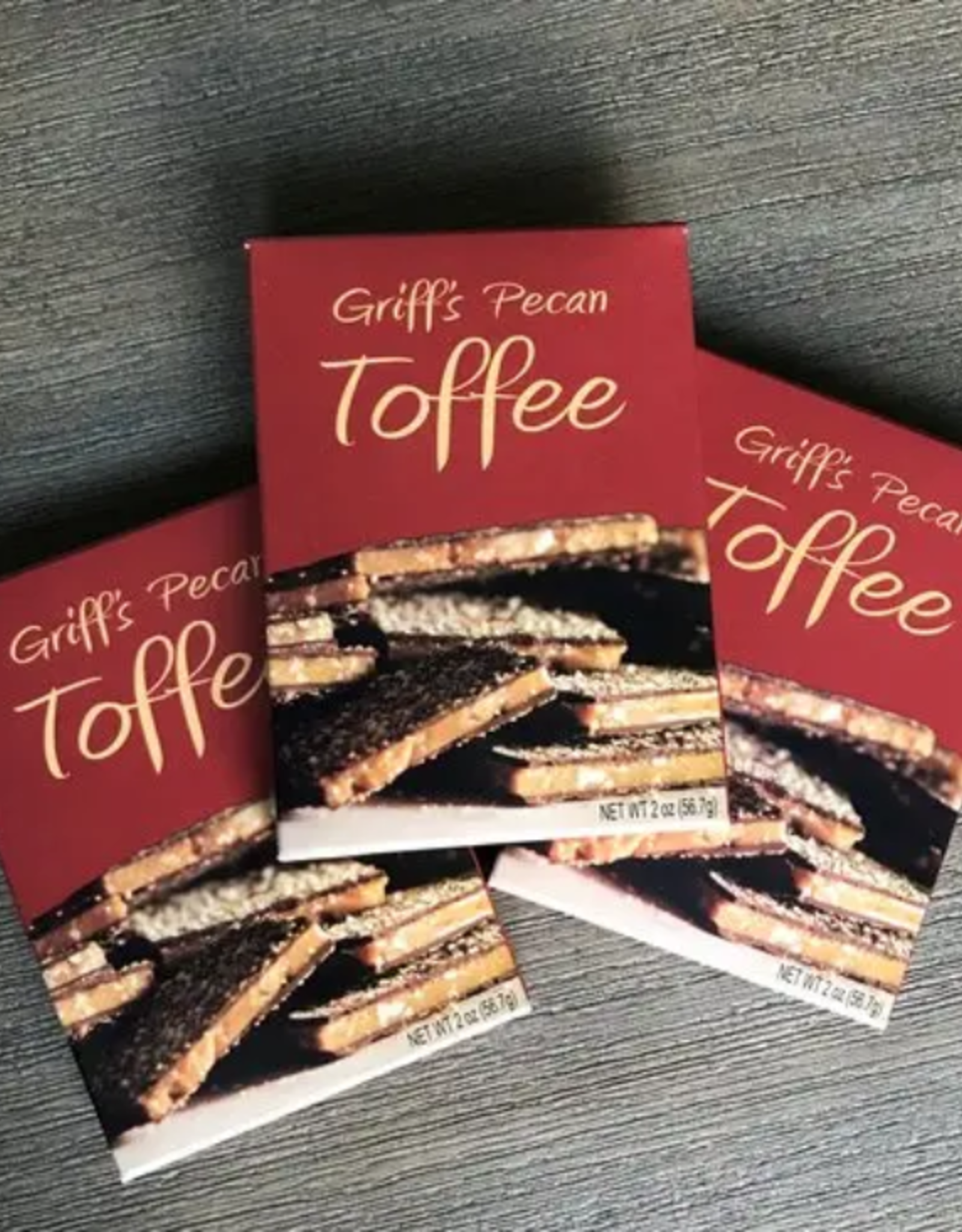 Griff's Toffee Griff's Pecan Toffee 2 oz