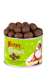 Virginia Diner Merry Christmas Dbl. Dipped Chocolate Peanuts