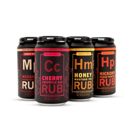 Spiceology 6-Pack Beer Can Rub
