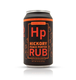 Spiceology Hickory Peach Porter, Beer Can Rub