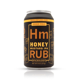 Spiceology Honey Mustard IPA, Beer Can Rub