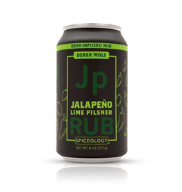 Spiceology Jalapeno Lime Pilsner, Beer Can Rub