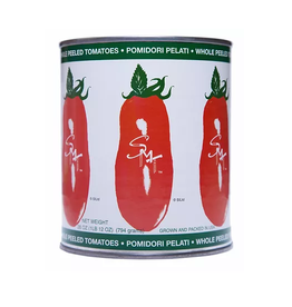 Nassau Candy San Marzano, Whole Peeled Tomatoes