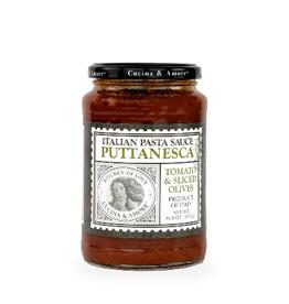 Nassau Candy Cucina & Amore Puttanesca Tomato & Sliced Olive Pasta Sauce
