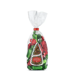 Seattle Chocolate Red & Green Gourmet Truffle bag