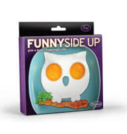 Fred & Friends Funny Side Up Egg Mold, Owl