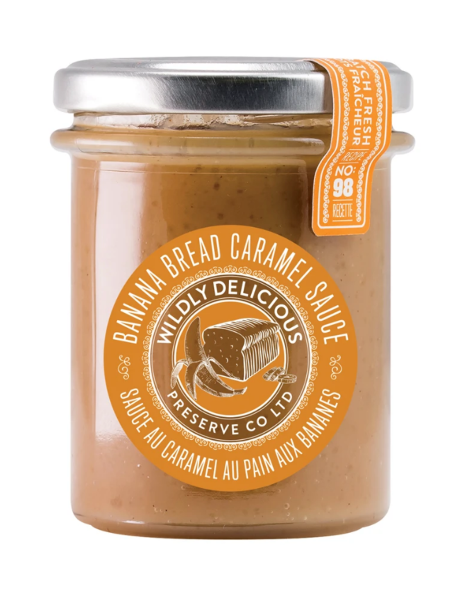 Wildly Delicious Banana Bread Caramel Sauce
