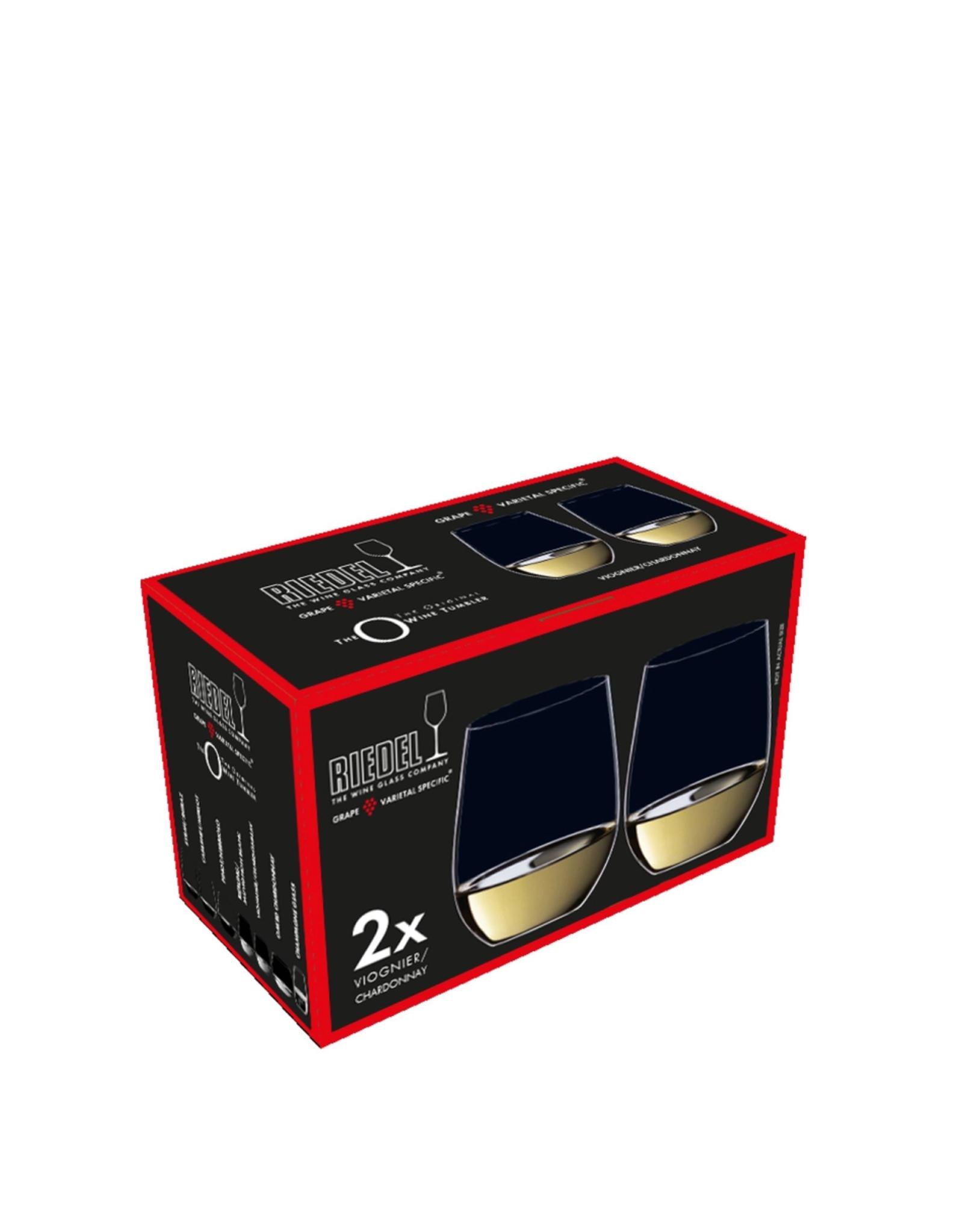 Riedel O Chardonnay Stemless Set 2