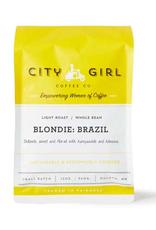 City Girl Coffee City Girl Blondie Brazil Whole Bean 12oz