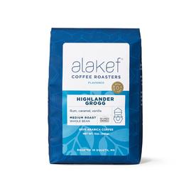 Alakef Coffee Highlander Grogg, Whole Bean 12oz
