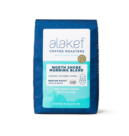 Alakef Coffee North Shore Morning Blend, Whole Bean 12oz