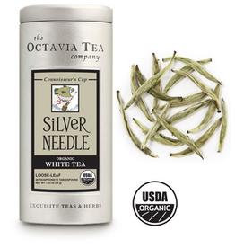 Octavia Tea Company Silver Needle White Tea Tin, Loose Leaf