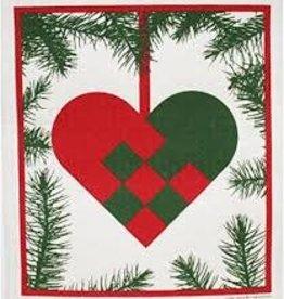 Cose Nuove Swedish Dishcloth, Woven Heart